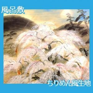 冨田溪仙「祇園夜桜図」【風呂敷】