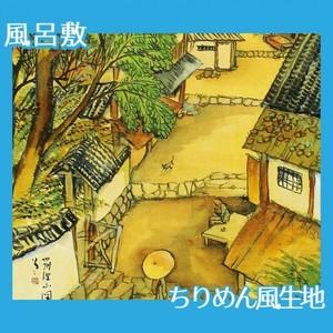 竹久夢二「筑波山図」【風呂敷】