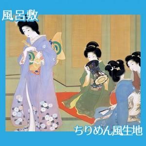 上村松園「舞仕度3」【風呂敷】