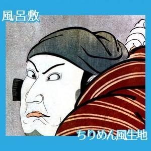 歌川国政「七代目片岡仁左衛門の伊予の太郎」【風呂敷】