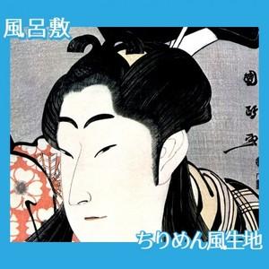 歌川国政「二代目中村野塩の桜丸」【風呂敷】