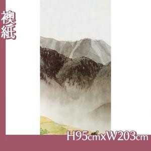 川合玉堂「遠雷麦秋2」【襖紙】
