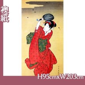 歌川豊国「蛍狩美人図」【襖紙】