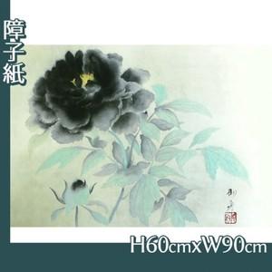 速水御舟「墨牡丹」【障子紙】