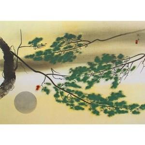 速水御舟「円かなる月」【窓飾り】