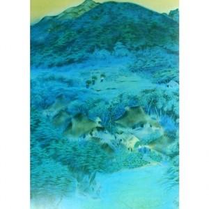 速水御舟「洛北修学院村1」【窓飾り】