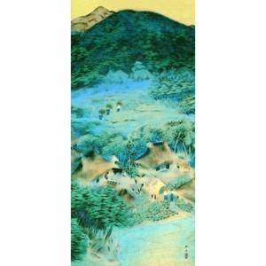 速水御舟「洛北修学院村2」【窓飾り】