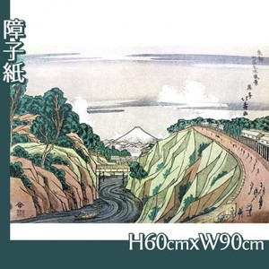 葛飾北斎「東都御茶之水風景」【障子紙】