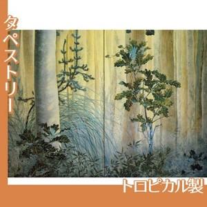 下村観山「木の間の秋(右)」【タペストリー:トロピカル】