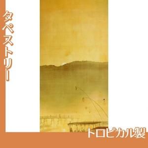 下村観山「納涼」【タペストリー:トロピカル】