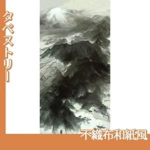 川端龍子「伊豆の国」【タペストリー:不織布和紙風】