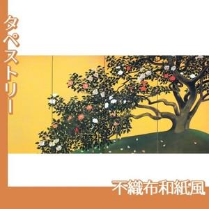 速水御舟「名樹散椿」【タペストリー:不織布和紙風】