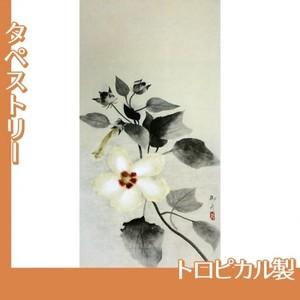速水御舟「白芙蓉」【タペストリー:トロピカル】