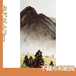 川合玉堂「遠雷麦秋1」【タペストリー:不織布和紙風】