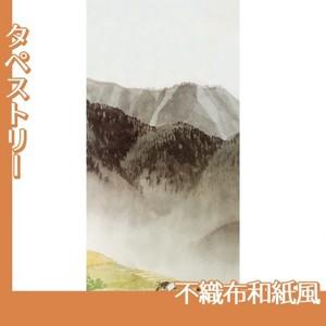 川合玉堂「遠雷麦秋2」【タペストリー:不織布和紙風】