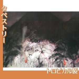 冨田溪仙「祇園夜桜」【タペストリー:トロピカル】