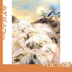 冨田溪仙「祇園夜桜図」【タペストリー:トロピカル】