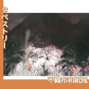 冨田溪仙「祇園夜桜」【タペストリー:不織布和紙風】