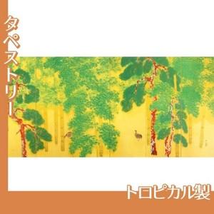 横山大観「柿紅葉(右隻)」【タペストリー:トロピカル】