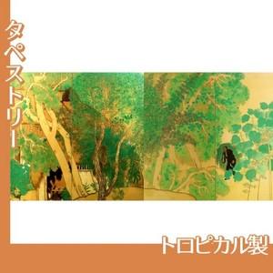 横山大観「作右衛門の家」【タペストリー:トロピカル】