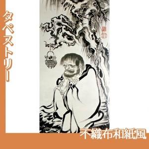 伊藤若冲「十六羅漢図(六幅) 三」【タペストリー:不織布和紙風】