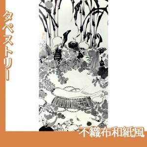 伊藤若冲「果蔬涅槃図」【タペストリー:不織布和紙風】