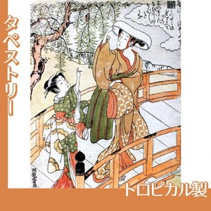 礒田湖龍斎「風流源氏 うつせみ」【タペストリー:トロピカル】