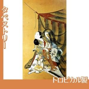 懐月堂安度「蚊帳美人図」【タペストリー:トロピカル】