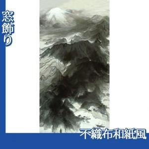 川端龍子「伊豆の国」【窓飾り:不織布和紙風】
