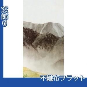 川合玉堂「遠雷麦秋2」【窓飾り:不織布フラット100g】