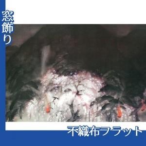 冨田溪仙「祇園夜桜」【窓飾り:不織布フラット100g】