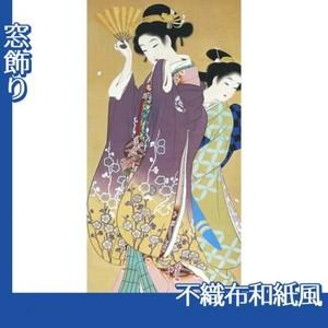 上村松園「桜可里図」【窓飾り:不織布和紙風】