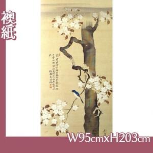 酒井抱一「桜に小禽図」【襖紙】