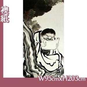 伊藤若冲「十六羅漢図(六幅) 四」【襖紙】