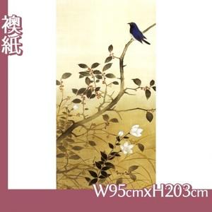 横山大観「季秋」【襖紙】