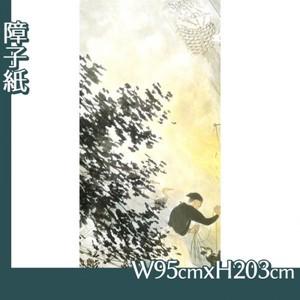 川合玉堂「鵜飼1」【障子紙】