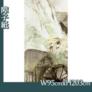 川合玉堂「五月雨1」【障子紙】