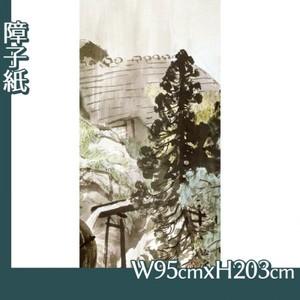 川合玉堂「五月雨2」【障子紙】
