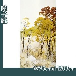 川合玉堂「岳麓晩秋1」【障子紙】
