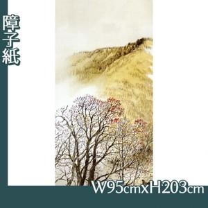 川合玉堂「高原入冬1」【障子紙】