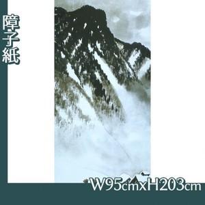 川合玉堂「山村深雪1」【障子紙】