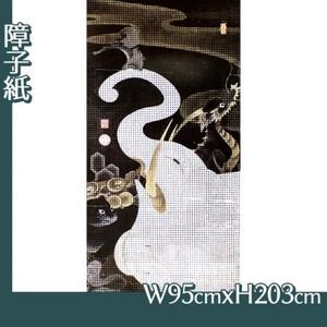伊藤若冲「白象群獣図」【障子紙】
