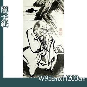 伊藤若冲「十六羅漢図(六幅) 一」【障子紙】