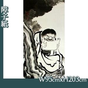 伊藤若冲「十六羅漢図(六幅) 四」【障子紙】