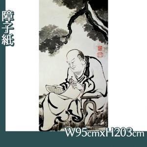伊藤若冲「十六羅漢図(六幅) 六」【障子紙】