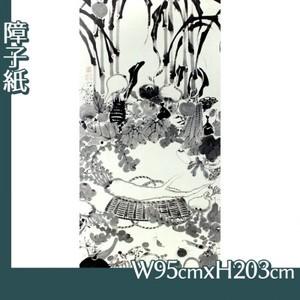 伊藤若冲「果蔬涅槃図」【障子紙】