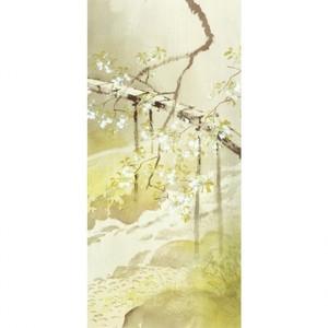 川合玉堂「暮春の雨1」【ホログラムタペストリー】