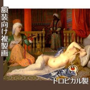 アングル「奴隷のいるオダリスク」【複製画:トロピカル】