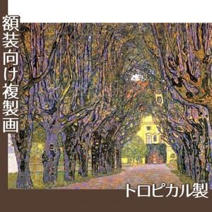 クリムト「カンマー城公園の並木道」【複製画:トロピカル】
