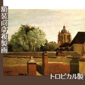 コロー「オルレアンのサン-パテルヌ教会鐘楼」【複製画:トロピカル】